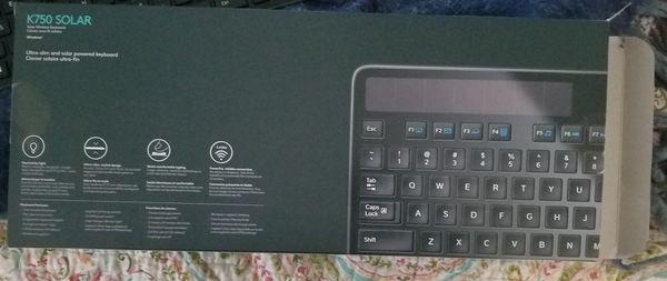 SOLAR Wireless Keyboard