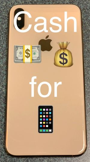 iPhone XS Max 512gb unlocked for Sale in Baltimore, MD