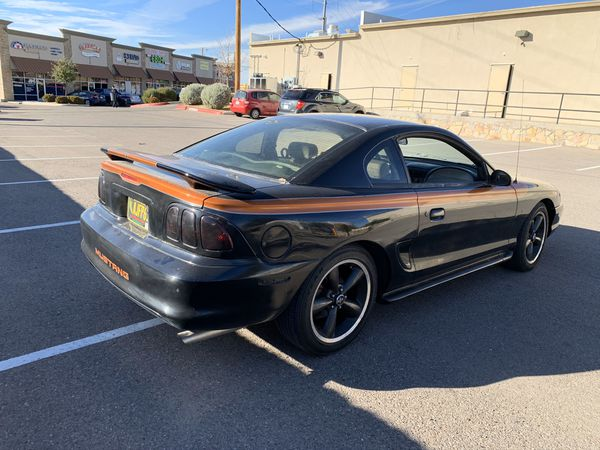 Mustang GT 1998-5 speed manual transmission-Clean title-9mm ford racing wires-screaming demon coils-bbk 78 mm throttle body-vogtland sport spring-2 f