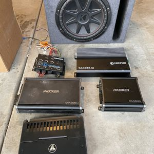 Car Audio Amps Sub Lc for Sale in San Diego, CA