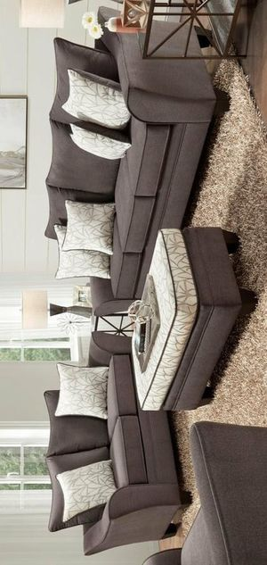 Beverly sofa and loveseat with ottoman for Sale in Houston, TX