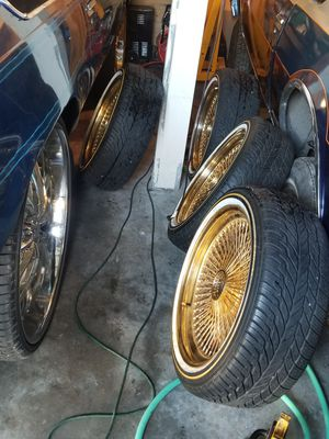 20 inch used all gold wires on new vouge .$$$3000obo for Sale in Tacoma, WA