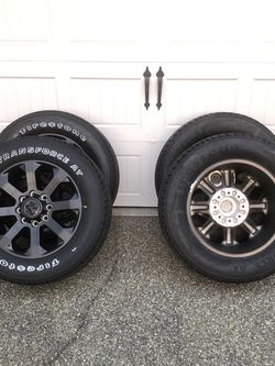 New LT285/60R20 Tires on Ram Rims for Sale in Poulsbo,  WA