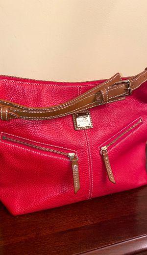 Dooney & Bourke Pebble Leather Hobo Bag w/ Cosmetic Bag for Sale in Wilmington, DE