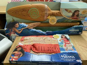 Disney Moana outfit custom dress and oar for Sale in Town 'n' Country, FL