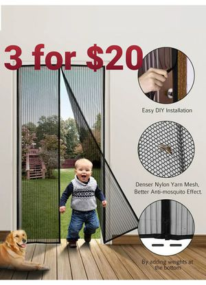 12 boxes of Bugout door mesh for Sale in Fontana, CA