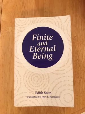 Finite and Eternal Being - College Reading for Sale in Winfield, IL