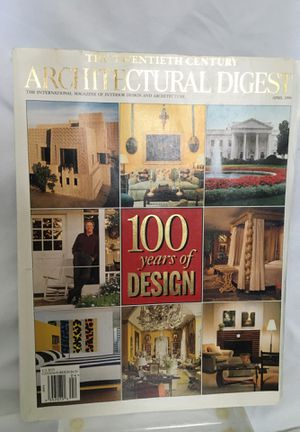 Architectural Digest: 100 Years of Design, April 1999 for Sale in Washington, DC