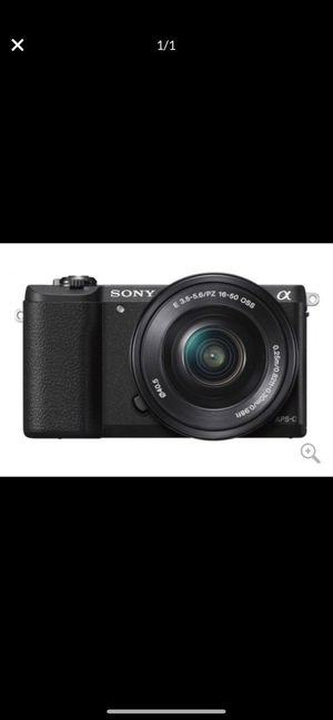Sony A5100 Camera! for Sale in Lansing, IL