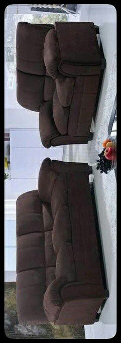 ✔Set✔ Halo Chocolate Sofa & Loveseat for Sale in Brentwood, MD