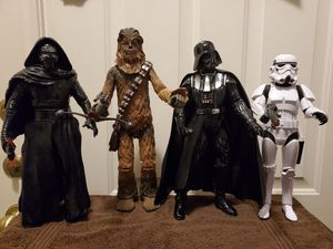 """4 Star Wars Action/ Talking figures 14"""" , 15"""", 16"""" for Sale in Miami, FL"""