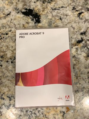 Adobe Acrobat 9 Professional Pro education for Sale in New Port Richey, FL
