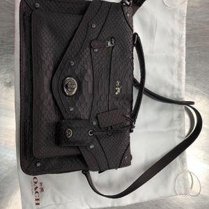 Coach Phyton Rhyder Messenger Handle Bag for Sale in Houston, TX