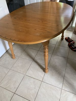 Kitchen Table with 3 chairs for Sale in Cove City, NC