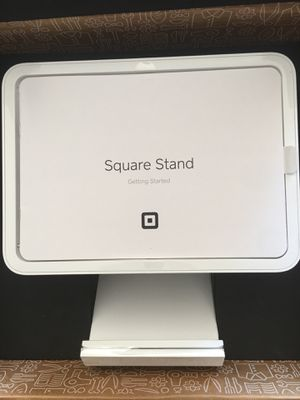 """Square Stand for iPad (2017,2018) iPad Pro 9.7"""", and iPad Air with Contactless + Chip Reader and Dock Brand New in The Box for Sale in Chicago, IL"""