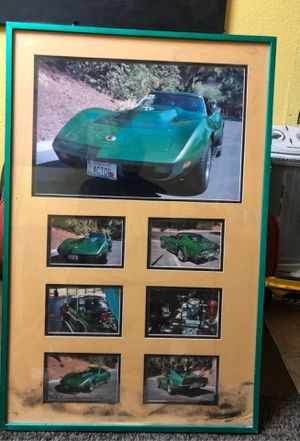 Corvette picture frame for Sale in Los Angeles, CA