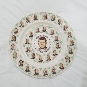 Vintage Collector Presidents Of The United States Plate for Sale in Paramount, CA