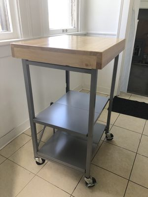 Foldable Kitchen Island Cart for Sale in Rocky River, OH