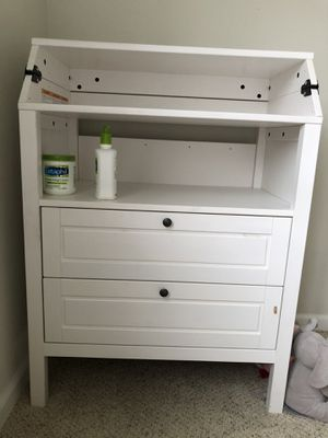 Ikea kids draws and diaper changing table in one for Sale in Fairfax, VA