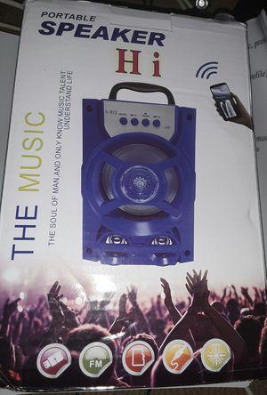 Portable Bluetooth Speaker * New * for Sale in Sun City, AZ
