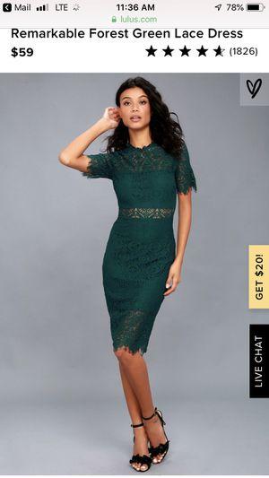 BRAND NEW Lulus Green Dress, Medium for Sale in San Diego, CA