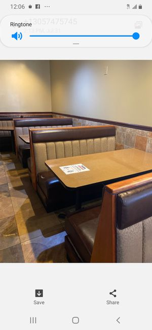 Booths for Sale in Miami Gardens, FL