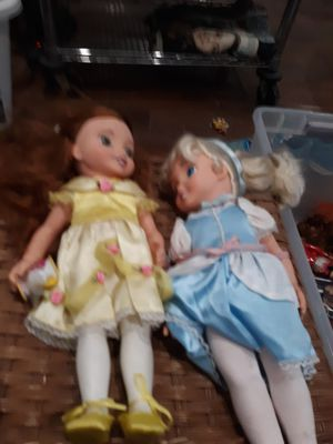 Belle and Cinderella Dolls for Sale in Chicago, IL