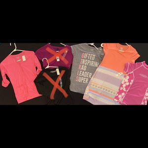 Lot of four brand new girls size large 10-12 Clothing NWT for Sale in Lutz, FL