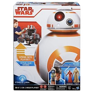 New Star Wars Force Link BB-8 2-in-1 Mega Playset including Force Linknyl Figure for Sale in Olney, MD
