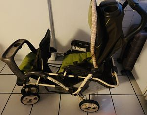 Double seat stroller $10 for Sale in Riverside, CA