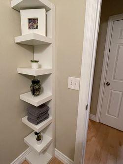 White Corner/wall Shelf for Sale in Kirkland,  WA