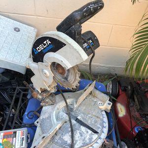 "Delta 10"" Compound Sliding Milter Saw for Sale in Winter Park, FL"