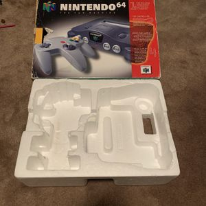 Nintendo 64 N64 Original System/Console Box for Sale in Burbank, CA