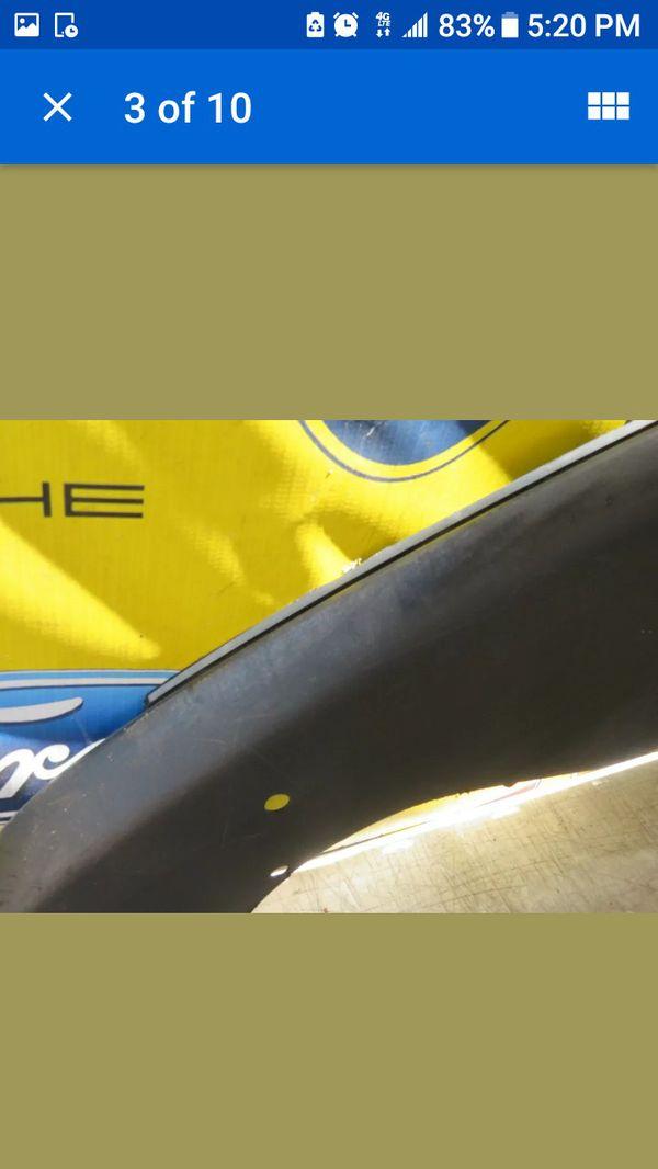 2012 2013 2014 2015 TESLA MODEL S FRONT BUMPER LOWER SPOILER OEM 6008160-00-B