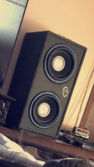 Car audio speaker 2,500watts for Sale in Columbus, OH