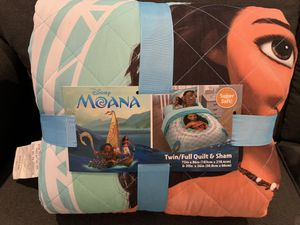 Moana quilt & Sham for Sale in La Vernia, TX