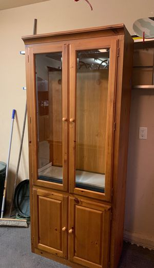 Tall China Cabinet for Sale in Clovis, CA