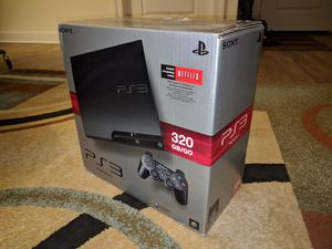 PlayStation 3 console with 15 games(original box and cables) for Sale in Leesburg, VA