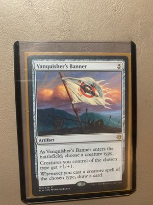 Vanquishers Banner - MINT - MTG for Sale in Aurora, OH