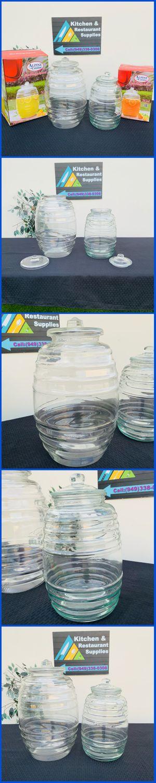 VITROLERO DE VIDRIO GLASS BEVERAGE DISPENSER AGUAS FRESCAS WATER CONTAINERS NEW IN BOX CATERING for Sale in Cypress, CA