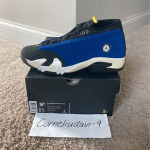 2015 Air Jordan 14 Laney Retro Size 9.5 for Sale in Raleigh, NC