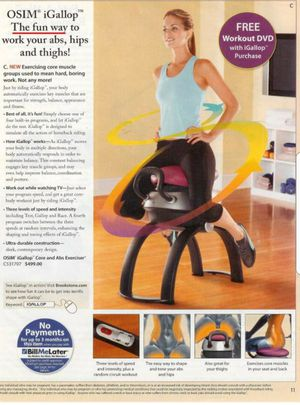 Igallop horse riding yoga core exercise machine for Sale in Lakewood, OH