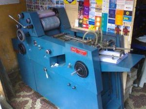 Chief 15 press Chain delivery printer & light table for Sale in Alexandria, VA