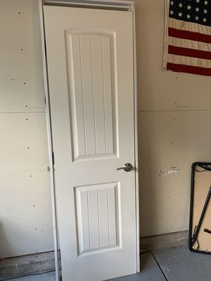 LH 24 in Santa Fe style interior door with hardware. Free for Sale in Littleton, CO