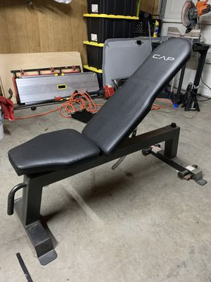 CAP Barbell Deluxe Utility Weight Bench for Sale in Norfolk, VA