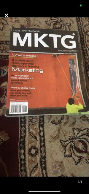 MKTG 4 Student Edition for Sale in Queens, NY
