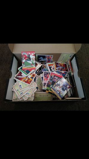 Cards in shoebox Baseball/Football for Sale in Ontario, CA