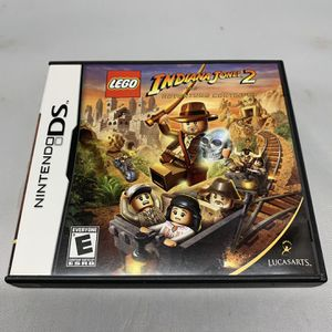 Lego Indiana Jones 2 For Nintendo DS Complete CIB Video Game for Sale in Camp Hill, PA