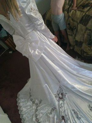 Wedding dress size 10 for Sale in Payson, AZ