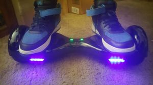Led hoverboard New in box and caring bag and 2 replacement pedels for Sale in Norfolk, VA